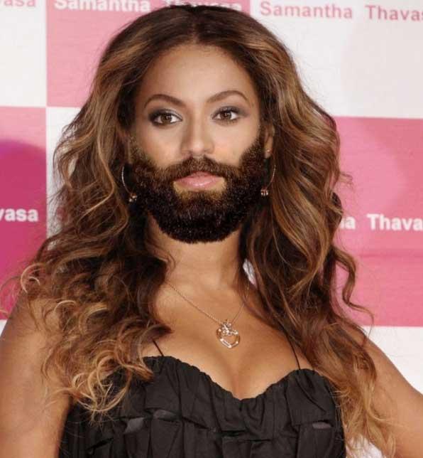 beyonce-beard