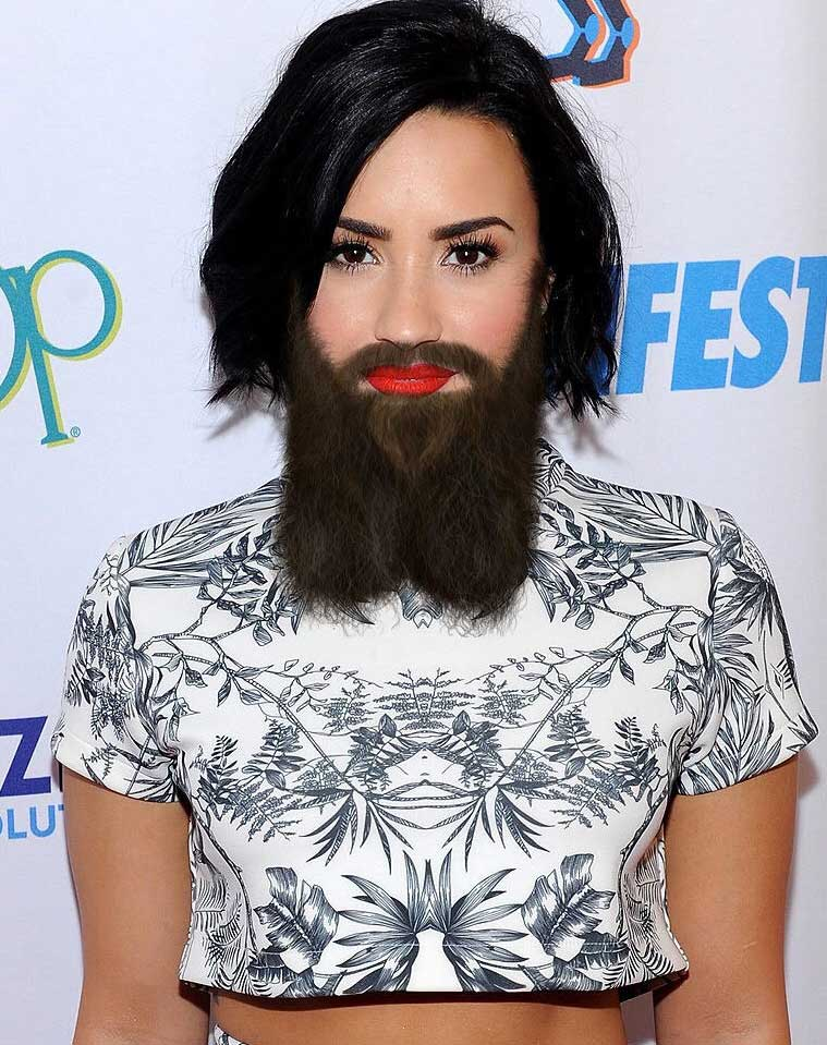 Female Pop Stars With Beards Gallery