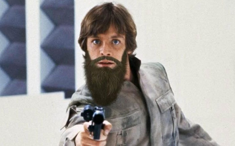 If All Star Wars Characters Had Beards Gallery