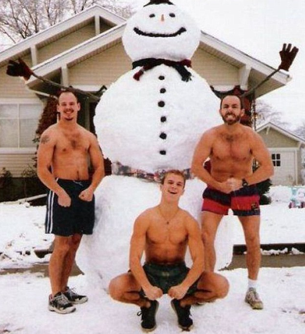 bizarre family christmas