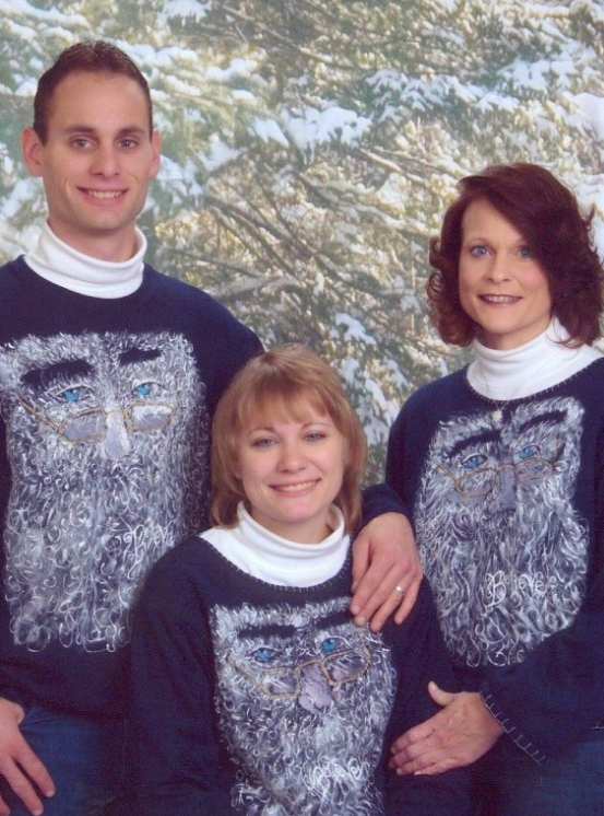 bad family sweaters