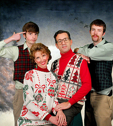 funny christma family photos