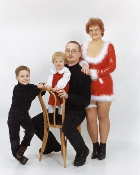 worst family christmas portraits