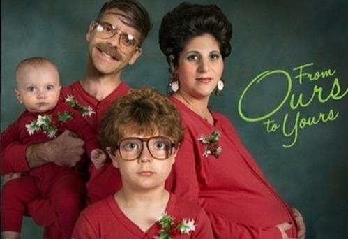 weird christmas family gallery