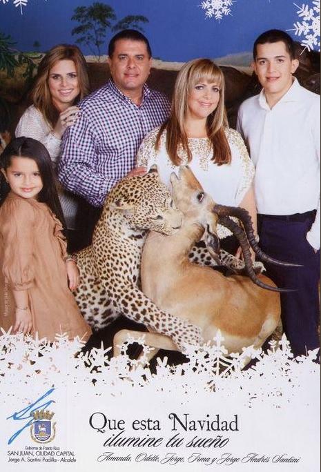 weird awkward family christmas