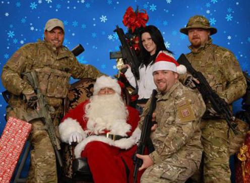 christmas army