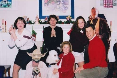 weird christmas star wars