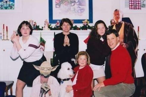 weird christmas star wars