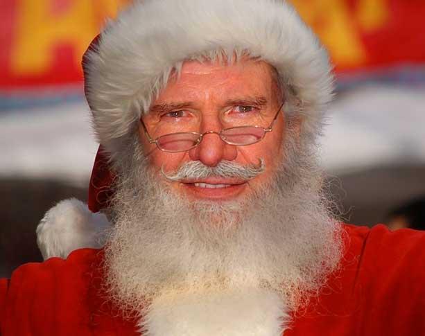 Celebrity santa claus pictures