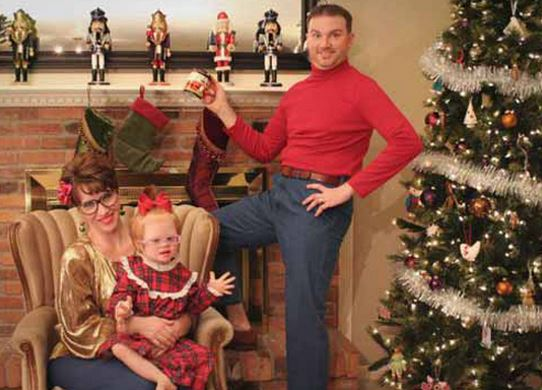 the 20 funniest family christmas cards ever gallery