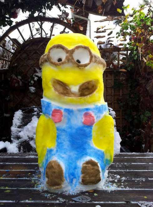 dispecable-me-snowman