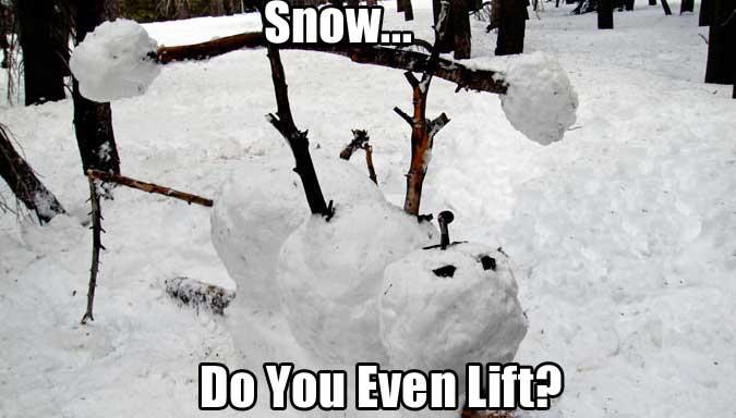 bench-press-snow