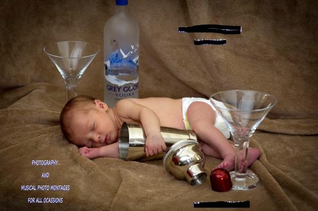 bad baby photography