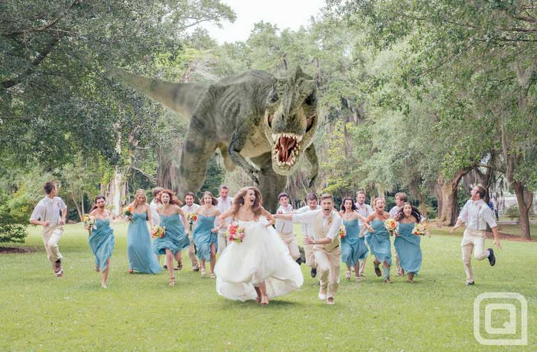t-rex-wedding