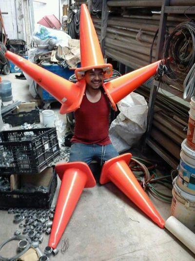 traffic cones funny