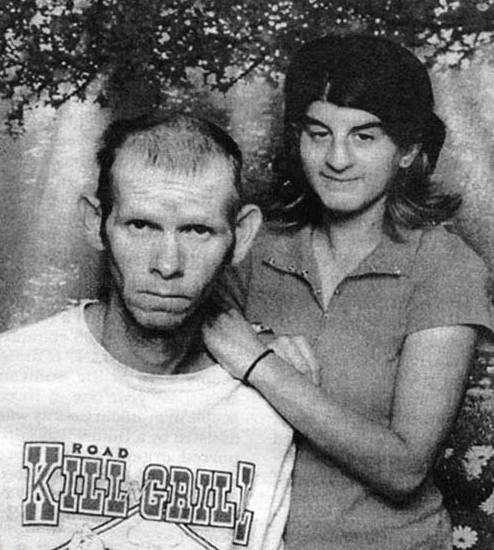 scary couple photo