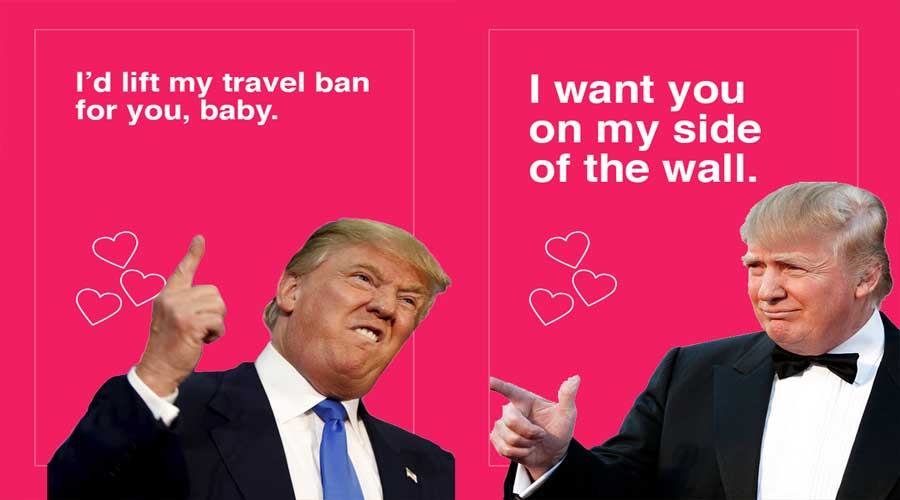 Donald Trump Valentine S Day Cards Are Yuge Right Now Gallery Wwi