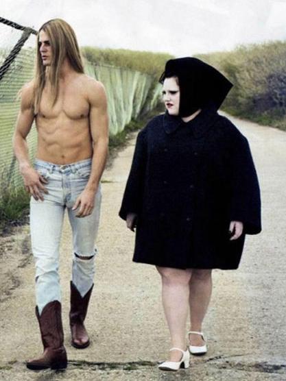 creepy couple