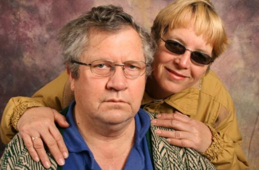 pissed couple