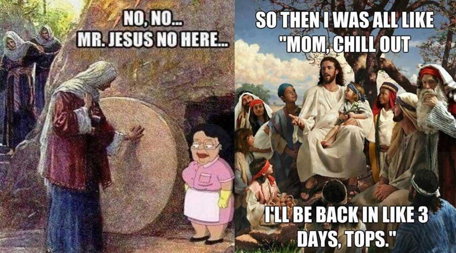 20 Egg-cellent Easter Memes (GALLERY)Jesus Easter Eggs Meme