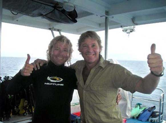 last photo steve irwin