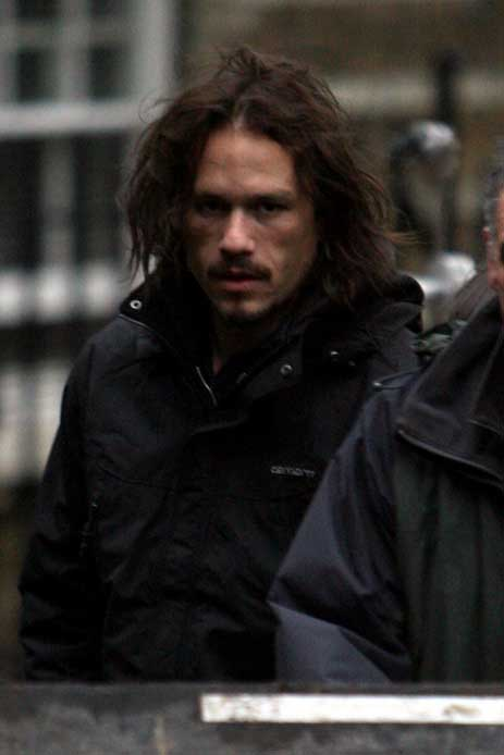 last photo of heath ledger