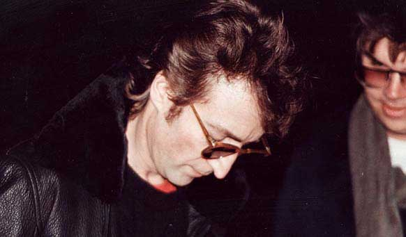 last photo of john lennon