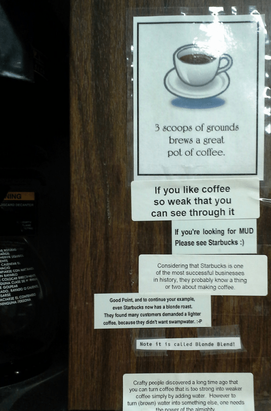 Passive Aggressive Office Note Wars Gallery