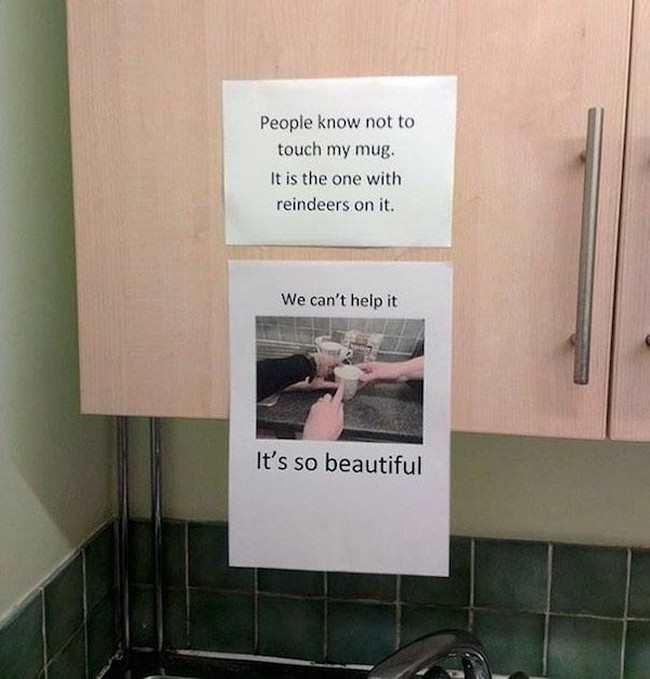 Passive Aggressive Office Note Wars (GALLERY)