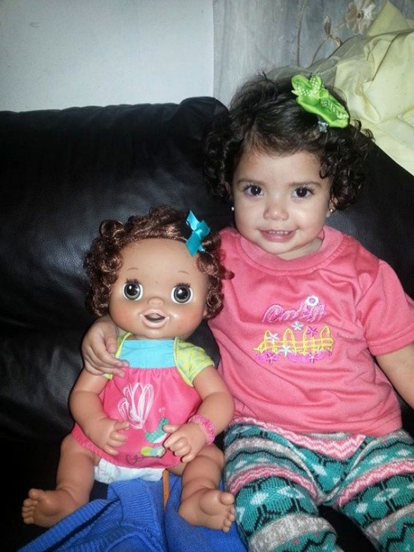 Kids Who Look Exactly Like Their Dolls Gallery