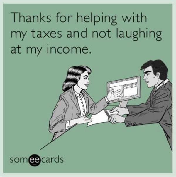 tax memes, tax season memes