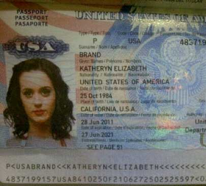 25 Celebrity Passport Photos You've Never Seen Before