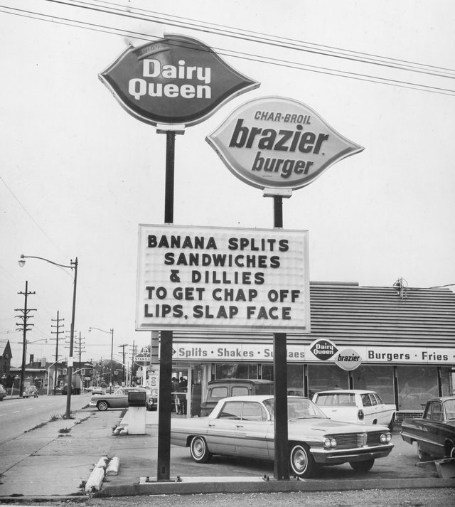 Dairy Queen Is The King Of Funny Signs Gallery
