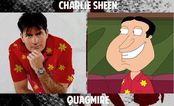 charlie sheen quagmire