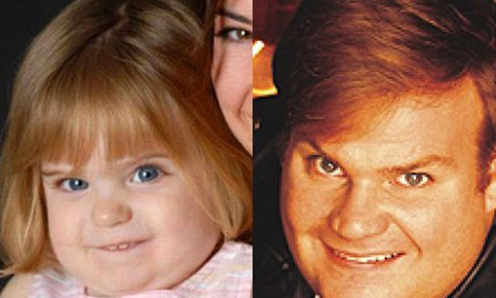 Baby celebrity doppelganger photos