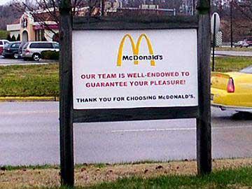 funny mcdonalds