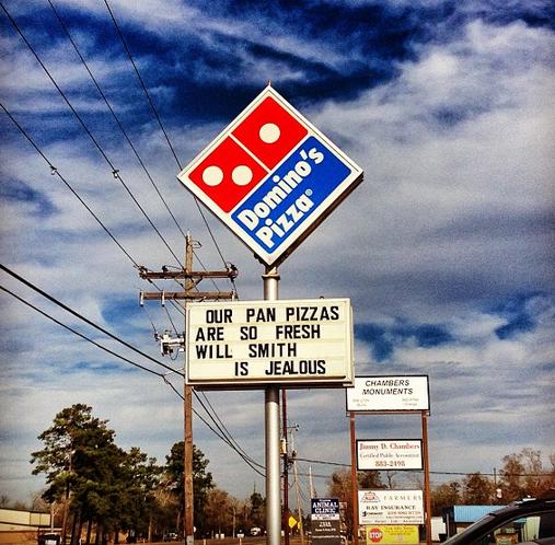 dominos pizza win