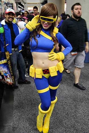 lady cyclops cosplay