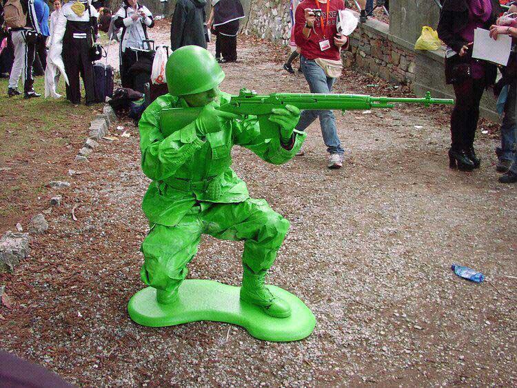 green army men cosplat