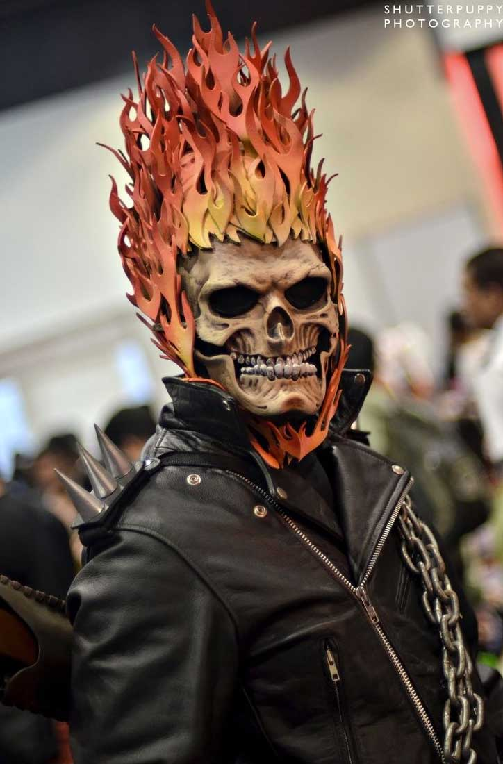 ghostrider cosplay