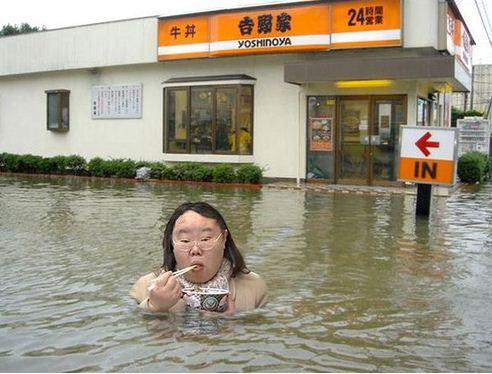 yoshinoya flood girl