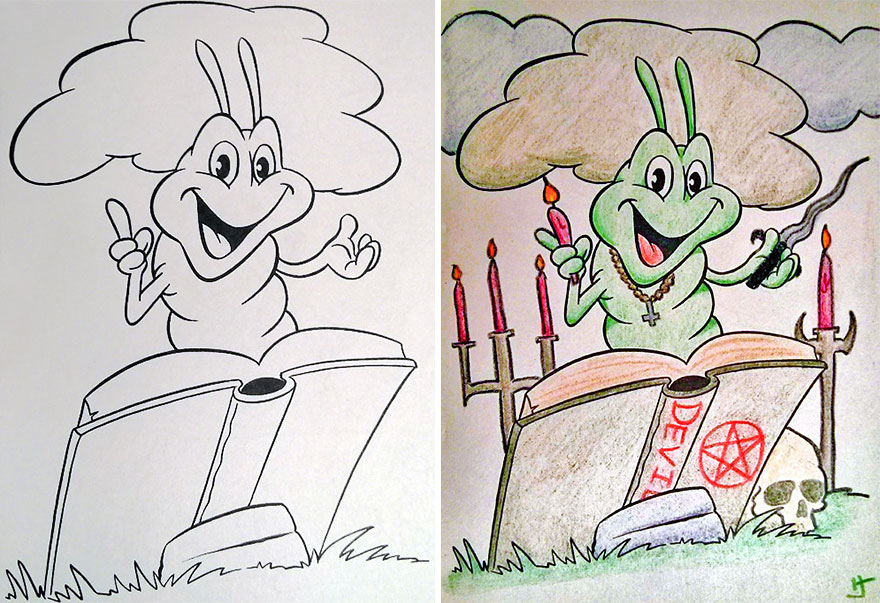 When Coloring Books Get Attacked by Adults (GALLERY ...