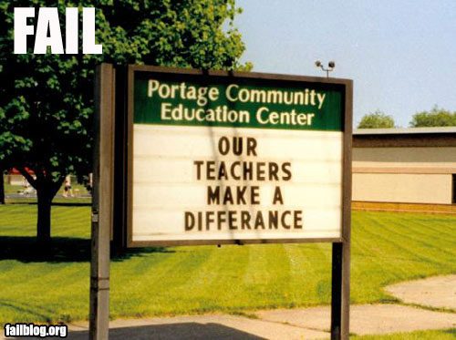 school-sign-funny