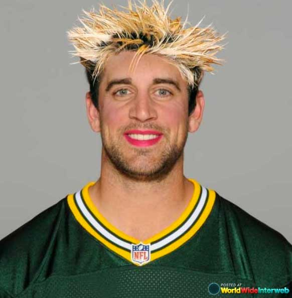 aaron rodgers makeover