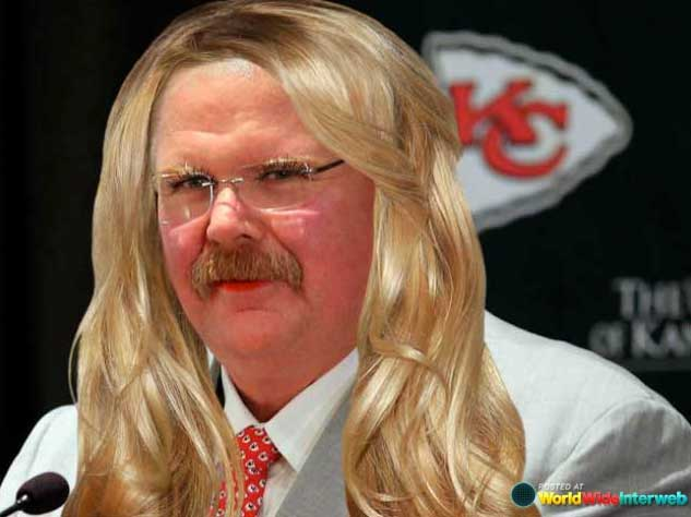 andy reid makeover