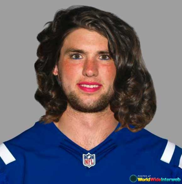 andrew luck makeover