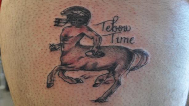 tebow tattoo