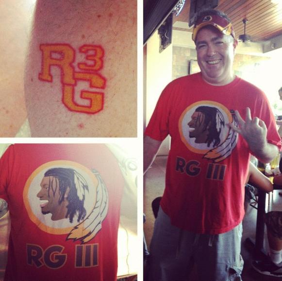 RG3 tattoo
