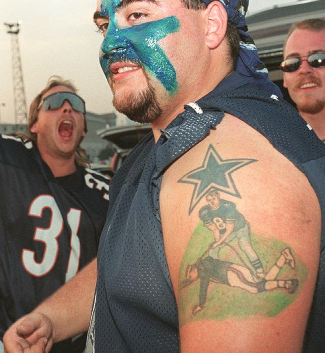 cowboys tattoo