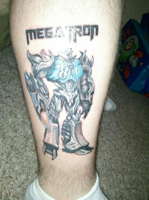 lions megatron tattoo